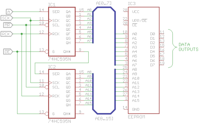 EEPROM reader schematic
