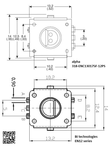 Partfinder: Alternative to SparkFun's Rotary Encoder « irq5.io