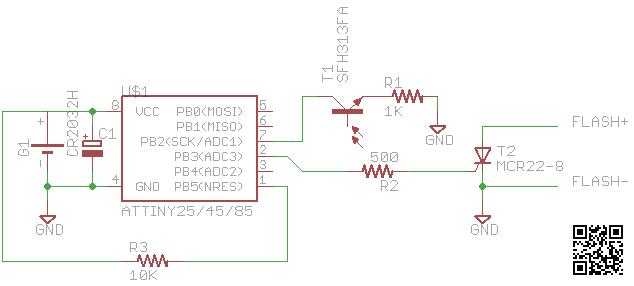 diy optical slave flash irq5 io rh irq5 io Pull System Schematic Diagram of the Mechanism of Triggering Remington 700 Trigger Assembly Diagram