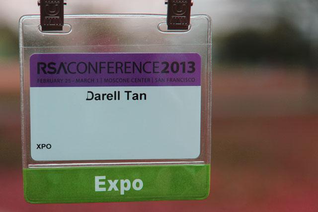 RSA conference pass