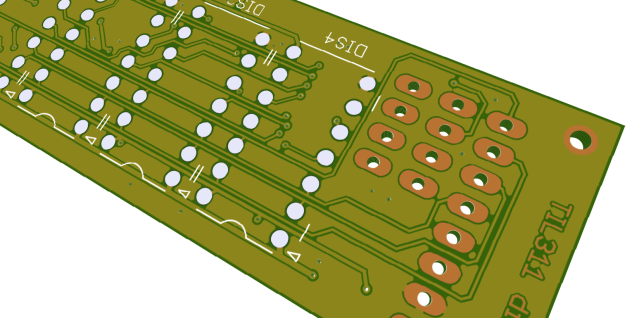 3D rendering of the PCB, for comparison